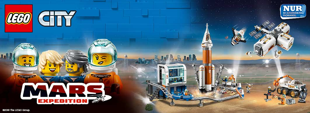 Lego Mars Expedition