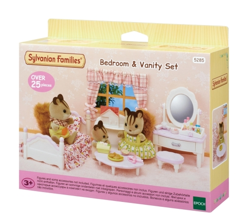 Sylvanian Families 5285 Schlafzimmer & Schminktisch-Set 5285 ...