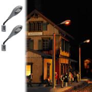 H0 Industrie-Wandlampen