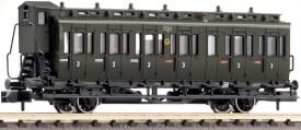 Fleischmann FM807104 N 2-achsiger Abteilwagen 3. Klasse mit B