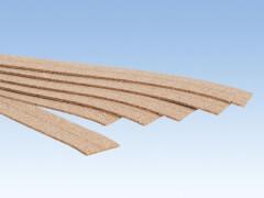 Kork-Gleisbettung, 2 mm hoch