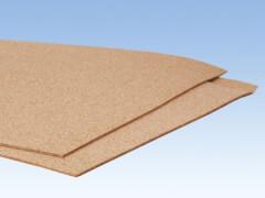 Kork-Platte, 2 mm hoch