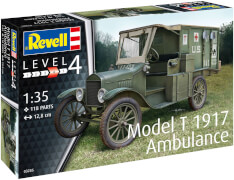 REVELL Model T 1917 Ambulance 1:35