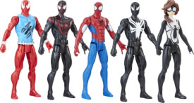 Hasbro E2324EU4 Spider-Man Titan Hero Web Warriors, sort.
