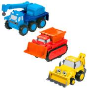 Mattel Bob der Baumeister Rückzieh-Fahrzeuge