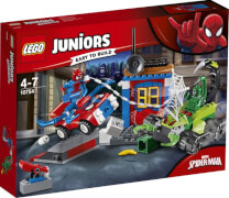 LEGO® Juniors 10754 Spider-Man: Großes Kräftemessen von Spider-Man und Skorpion, ab 4 Jahre