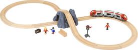 BRIO 63377300 Eisenbahn Starter Set A