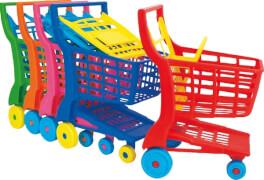 Adriatic Einkaufswagen aus Kunststoff, sortiert, (nicht frei wählbar)