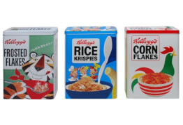 Tanner-Kellogs Metall Dosen-Set