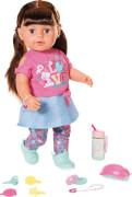 Zapf 827185 BABY born Soft Touch Sister brünett 43 cm