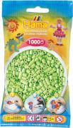 HAMA 207-47 Bügelperlen Midi - Pastell Grün 1000 Perlen, ab 5 Jahren