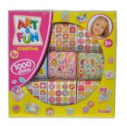 Art & Fun 1.000 Mädchen Sticker