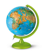 Zoo Globus blaue Kugel 25cm Halogen Neu