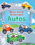 Stickerbuch Autos