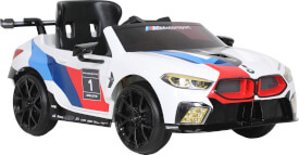 Rollplay BMW M8 GTE Racing, 12V, RC, white