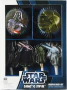 Star Wars Muffin Deko Set 48-teilig (24 Förmchen & 24 Piker)