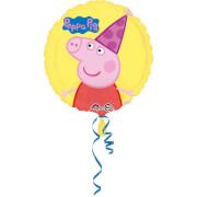 Standard Peppa Pig Folienballon rund S60 verpackt 43cm