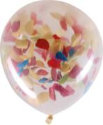 Konfetti Luftballon 3 Stück