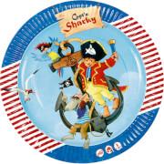 Partyteller Capt'n Sharky (8 St.)