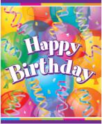 Happy Birthday Brilliant Geschenktüten 8 Stück